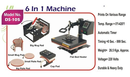 6 In 1 Multi-Functional Heat Press