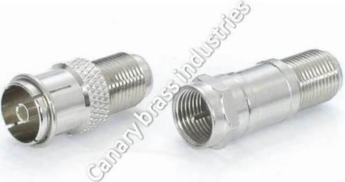 RF Socket, F Male-Female Adaptor