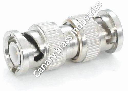 BNC Male to BNC Male Bulkhead Adaptor