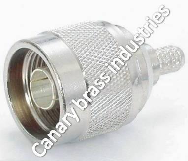 N Plug Crimp Type PTFE
