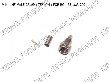MINI UHF Plug Crimp Type