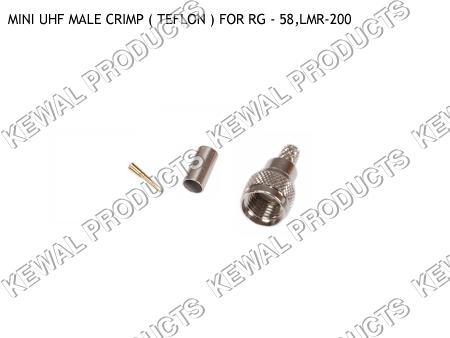 MINI UHF Plug Crimp Type