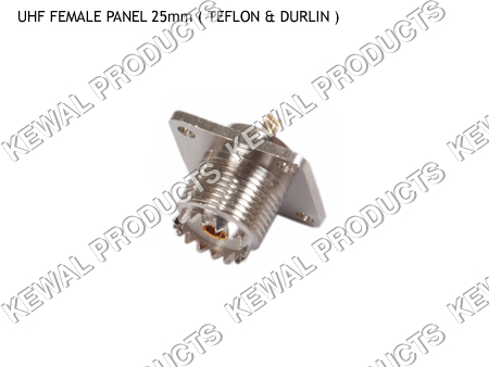 UHF SOCKET PANEL TYPE