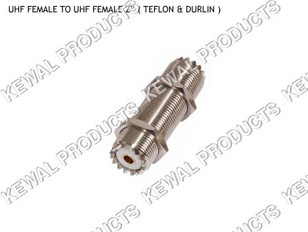 UHF SOCKET TO UHF SOCKET 2