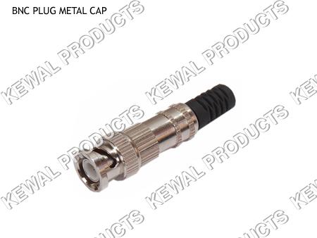 BNC Plug Metal Cap