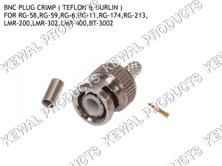 BNC Plug Crimp Type