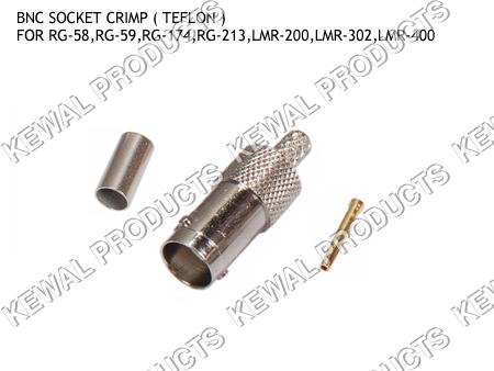 BNC Socket Crimp Type