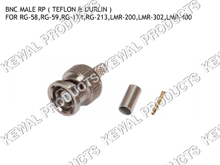 Reverce Polarity BNC Plug Crimp Type