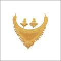 Designer Gold Jewellery Necklaces Set