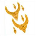 Designer Gold Necklaces Sets