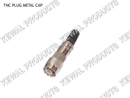 TNC Plug Metal Cap