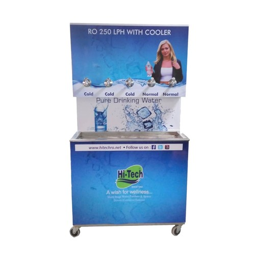 Cooler 250 litter with inbuilt RO system