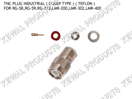 TNC Plug Clamp Type