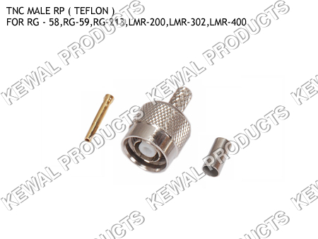 Reverce Polarity TNC Plug Crimp Type