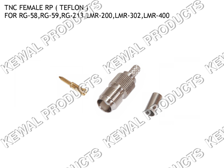 Reverce Polarity TNC Socket Crimp Type