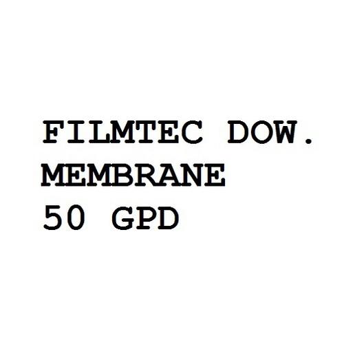 Filmtec Dow. Membrane 50 Gpd