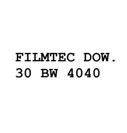 Filmtec Dow. 30 Bw 4040