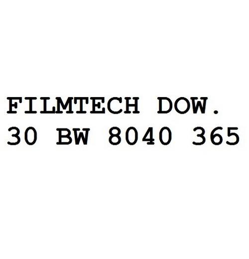Filmtech Dow. 30 Bw 8040 365