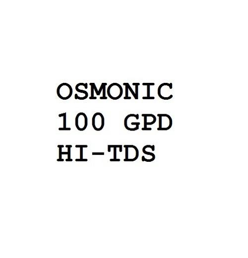Osmonic 100 Gpd Hi-Tds