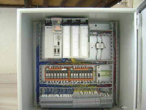 Spm Milling PLC Control Panel