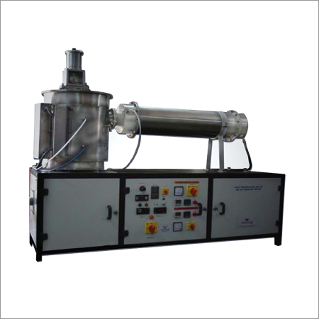High Temperature Air jet Erosion Test Rig