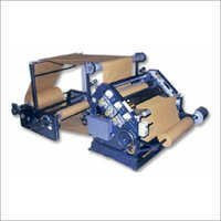Vertical Type Single Face Corrugation Machine