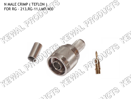 N Plug Crimp Type