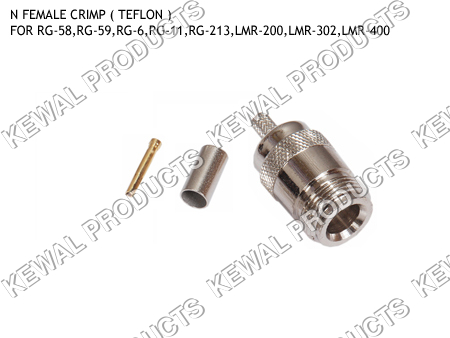N Socket Crimp Type