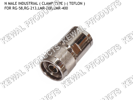 N Plug Clamp Type