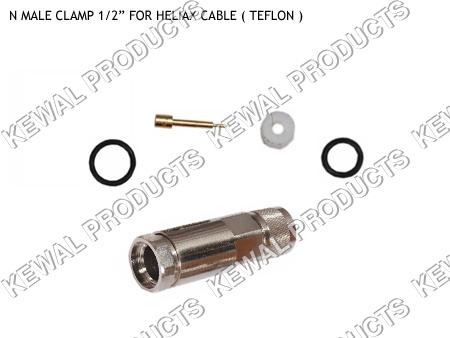 N Plug Clamp Type 1/2