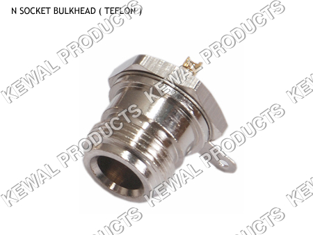 N Socket Bulkhead