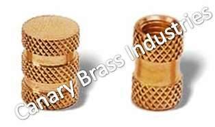 Round Brass Moulding Inserts