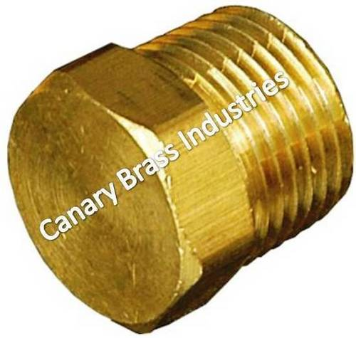 Brass Forged Stop Plug