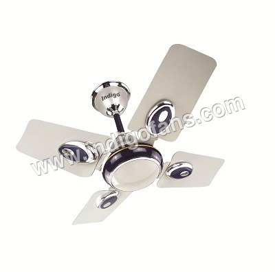 Small Wonder Silver Blue Ceiling Fan