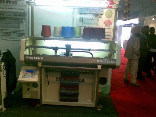Computerized Transfer Flat Knitting Machine