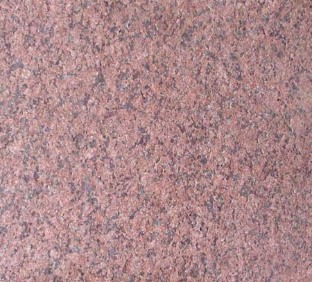 Ruby Red Flamed Granite