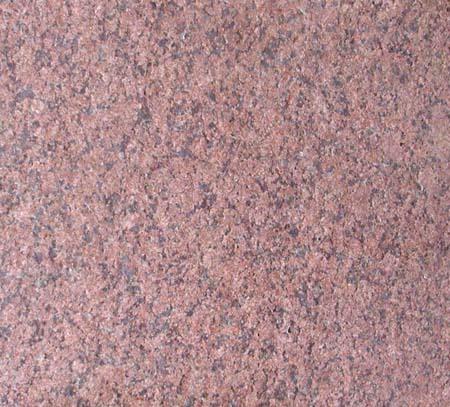 Ruby Red Flamed Granite