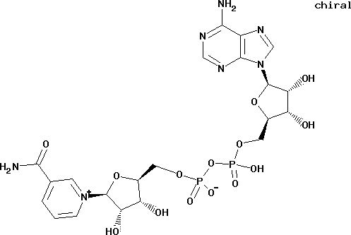 Nicotinamide adenine dinucleotide free acid