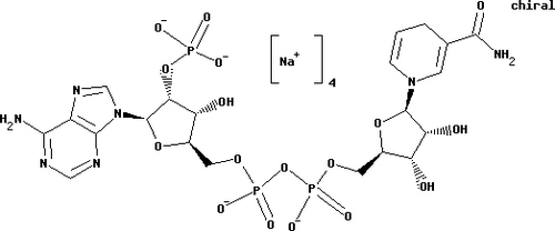 Dihydronicotinamide adenine dinucleotide phosphate tetrasodium salt