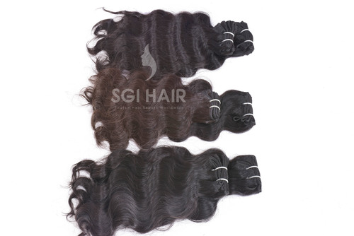 100% Indian Temple Human Hair Extensions