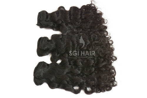 Indian Temple Hair Curly Extension