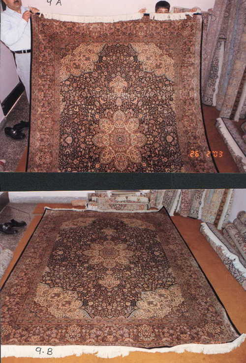 Woolen Silk Carpets