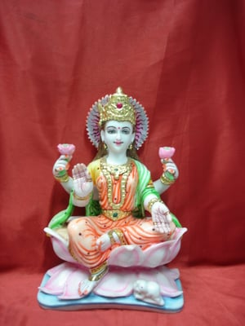 Marble Lakshmi Ji Statue