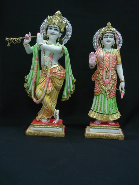 Radha Krishna Statue Marble Radha Krishna Statue