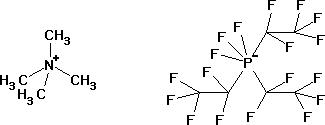 Tetramethylammonium tris(pentafluoroethyl)trifluorophosphate