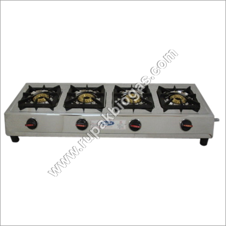 Biogas Four Burners Stove