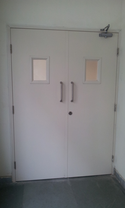 Steel Firerated Double Door