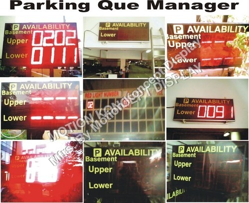 LED Que Parking Display Board