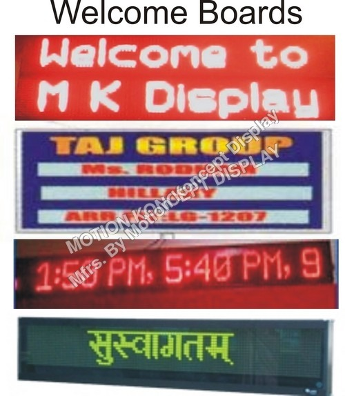 LED Welcome Board