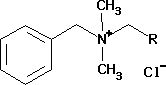 Alkylbenzyldimethylammonium chloride